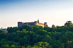 城堡意大利山麓 库存图片