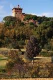 城堡意大利 免版税库存照片