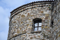 城堡意大利 库存照片