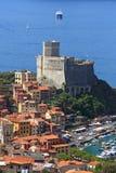 城堡意大利lerici利古里亚 免版税库存图片