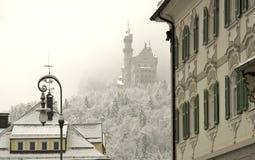城堡慕尼黑 免版税库存图片