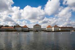 城堡慕尼黑 免版税库存照片