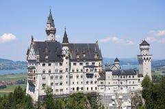 城堡慕尼黑 免版税图库摄影