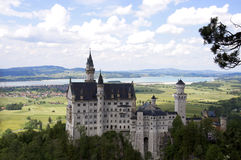 城堡慕尼黑 库存图片