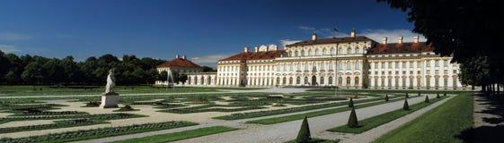 城堡慕尼黑schleissheim 免版税库存照片