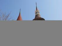 城堡房子在巴塞罗那 免版税库存图片