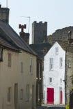 城堡房子里士满白色 免版税库存图片