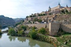 城堡托莱多 库存照片
