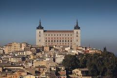 城堡托莱多 库存图片