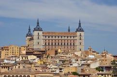 城堡托莱多 免版税库存图片