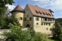 城堡拉本斯泰因,巴伐利亚,南德国 库存图片