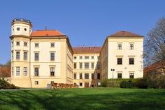 城堡捷克共和国straznice 库存照片