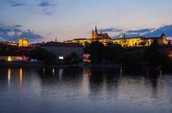 城堡捷克布拉格共和国 免版税库存图片
