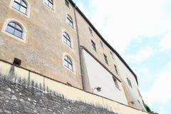 城堡捷克施滕贝格宫殿  库存图片