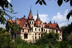 城堡捷克 库存照片