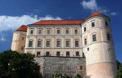 城堡捷克mikulov共和国 库存照片