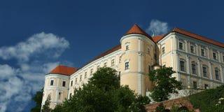 城堡捷克mikulov共和国 库存图片