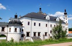 城堡捷克pardubice rep 库存图片