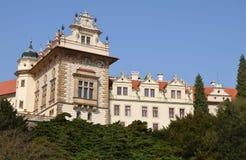 城堡捷克pruhonice共和国 免版税库存照片