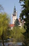 城堡捷克pruhonice共和国 免版税库存图片