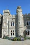 城堡接地肯特庄严 库存图片