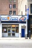 城堡接近的视图白色 免版税图库摄影