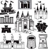 城堡收集 免版税库存照片