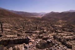 城堡文明筑堡垒于的quilmes 免版税库存照片
