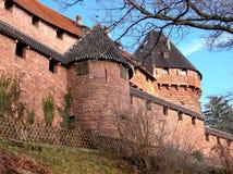 城堡新生墙壁 库存图片