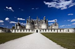 城堡新生 免版税库存图片