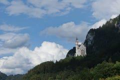 城堡新的天鹅 免版税库存照片
