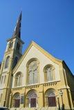 城堡方形的施洗约翰教堂 免版税库存照片