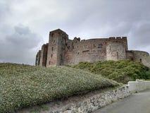 城堡旁边防御 库存照片