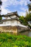 城堡日本京都nijo 库存照片