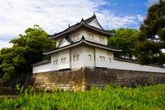 城堡日本京都nijo 免版税库存照片