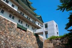 城堡日本名古屋 库存照片