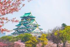 城堡日本大阪 免版税库存照片
