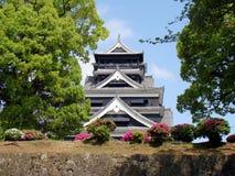 城堡日本熊本 免版税库存照片