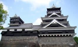 城堡日本熊本 库存照片