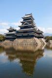 城堡日本马塔莫罗斯 免版税图库摄影