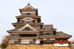城堡日本马塔莫罗斯 免版税库存图片