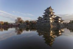 城堡日本马塔莫罗斯 图库摄影