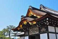 城堡日本nijo 免版税库存照片