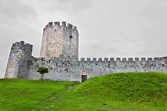 城堡时代欧洲中世纪南部 免版税库存图片