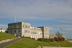 城堡普利茅斯 免版税库存图片