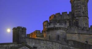 城堡月光塔 库存照片