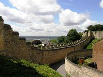 城堡林肯英国 免版税图库摄影