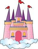 城堡梦想 库存图片