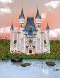 城堡梦想 库存照片