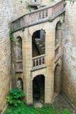 城堡楼梯 图库摄影